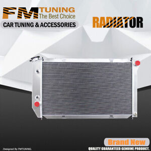 For Ford Torino Country Squire Thunderbird Lincoln 3row Aluminum Radiator 390 At