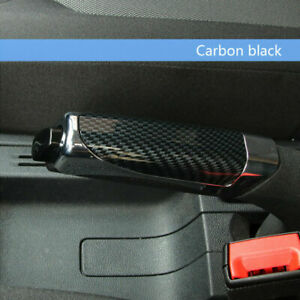 In car Carbon Fiber Style Hand Brake Protector Decoration Cover Car Accessories