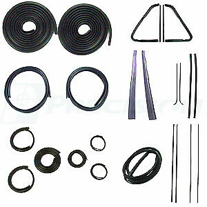 1951 1952 1953 Chevrolet Gmc Pickup Truck Complete Cab Weatherstrip Seal Kit
