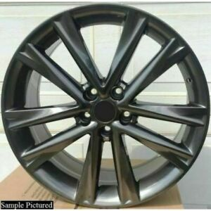 Metallic W225 Wheels Rims For Lexus F Sport 2014 2020 Front 19 Inch