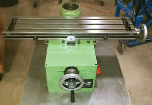 Emco Maximat Fb 2 Xy Table For Mill Drill Inch Based L12t