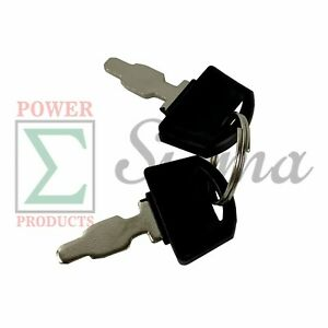 Ignition Switch Key For Harbor Freight Predator Electric Start Generator Engine