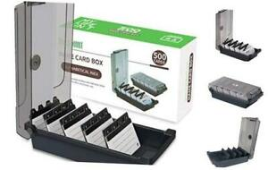 Business Card Holder Name Card Organizer With Dividers And Index Tabs 500