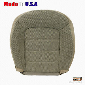 2002 2003 2004 2005 Ford Explorer Driver Bottom Cloth Cover Med Parchment Tan