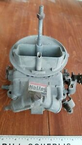 Holley 4412 S Oem Carburetor Carb 500 Cfm Circle Track Nascar Nhra For Rebuild