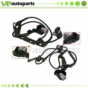 Fits Mazda 6 03 04 05 08 Pair 2 Front Abs Wheel Speed Sensor Driver Or Passenger