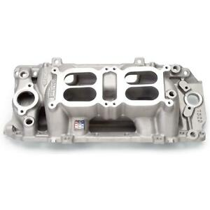 Edelbrock 7520 Rpm Air Gap Dual Quad Intake Manifold Big Block Chevy