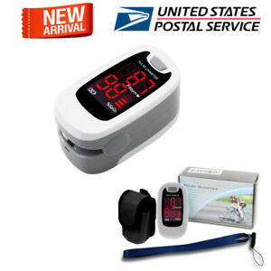 Contec Pulse Oximeter Fingertip Blood Oxygen Spo2 Monitor Pr Heart Rate Oximetro