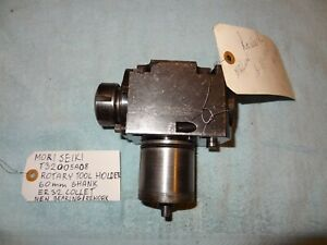 Mori Seiki T32005a01 Live Tooling 60mm Shank Er 32 Collet Reworked new Bearing