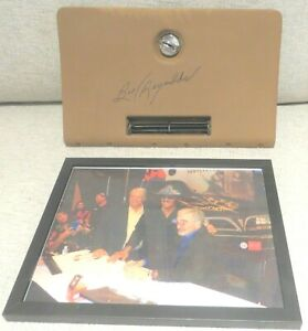 Autographed Burt Reynolds Signed Original 1970 1981 Trans Am Glove Box Door