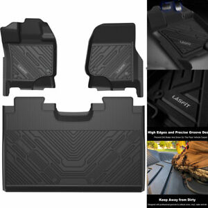 Floor Mats For Ford F150 2015 2021 All Weather Rubber Liners Tpe Perfect Fit