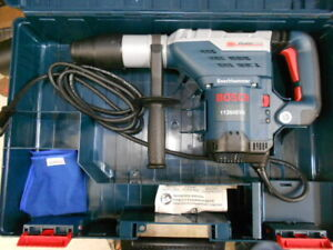 New Bosch 11264evs 1 5 8 in Sds max Keyless Variable Speed Rotary Hammer W Case