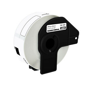 Dk 1201 400 Labels Per Roll Permanent Frame 1 1 7 X 3 1 2 For Brother Ql500