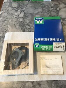 New Wells Carburetor Tune Up Kit Fits Stromberg Zenith Model Cd Cdse 68 72 Volvo