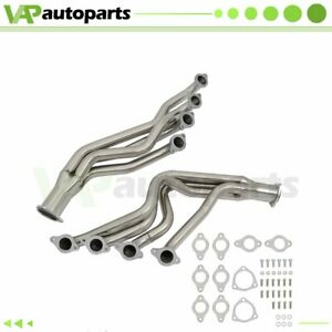 Racing Long Tube Header Fits Chevy Big Block Bbc 8cyl 6 6 7 4l Exhaust Manifold