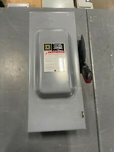 Square D H323n Fusible 100a 240v Nema 1 Heavy Duty Safety Switch