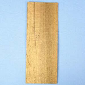Teak Curly 2 Bookmatched Wood Veneer Sheets 4 5 X 12 no Backing