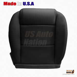 2005 2006 2007 2008 2009 Ford Mustang V6 Driver Bottom Leather Seat Cover Black