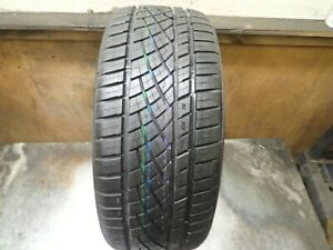1 225 40 19 93y Continental Extreme Contact Dws 06 Tire Full Tread No Repairs