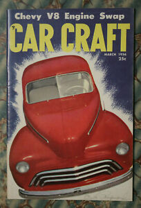 Car Craft 1956 47 Ford 53 Chevy Grill Buick Side Trim How To Vtg Hubcaps V8 Swap