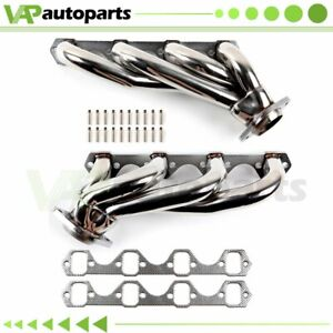 For 1979 93 Ford Mustang 5 0l 302 V8 Gt Lx Svt Stainless Header Manifold Exhaust