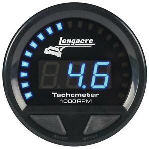 Longacre 52 46863 Digital Elite Waterproof Tach 2 5 8 Inch