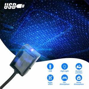 Usb Car Interior Roof Atmosphere Starry Sky Lamp Led Projector Star Night Light