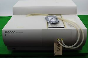 Hitachi U 3000 Uv Spectrophotometer W Manuals Laboratory Equipment