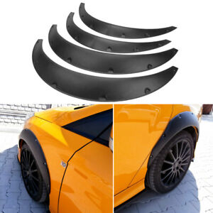 For 2012 2013 2014 Ford Focus St Se Fender Flares Wide Body Kit Wheel Arches Us Fits 2010 Toyota Corolla