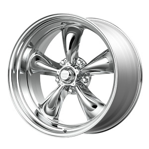 American Racing Vn515 Torq 17 Inch 5x120 65 4 Wheels Rims 17x8 11mm Polished