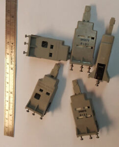 lot Of 2 Microswitch 1pb878 Push Button for Old Keyboards I e Univac Etc