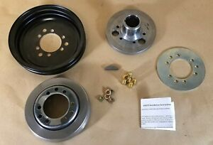 1955 1962 Pontiac Harmonic Balancer Flange Ass y With Pulley Damper C532492rs
