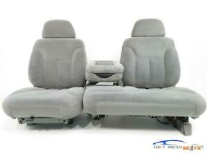 Chevy Gmc Silverado Tahoe Yukon Suburban Cloth 60 40 Bench Seats 1995 1999