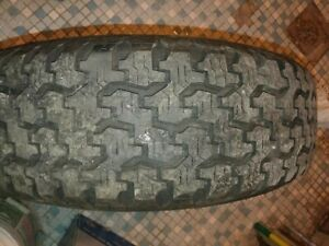 Goodyear Wrangler Radial 235 75r15 Tire Rarely Used Excellent Ford Explorer
