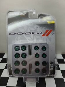 Chase Green Machine 164 Greenlight Dodge Seried 4 Truck Wheels Tires Axels 4x4