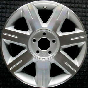 Cadillac Dts Machined W Silver Pockets 17 Inch Oem Wheel 2006 To 2007
