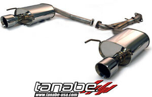 Tanabe Medalion Touring Cat Back Exhaust System For 2006 Lexus Gs300 Gs430