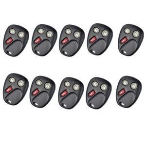 Lot10 Replace Remotes Keyless Shell For Chevrolet Buick Gmc Saturn Cadillac 3bts
