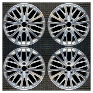 Set 2018 2019 2020 2021 Toyota Camry Oem Factory 18 Oe Silver Wheels Rims 75221