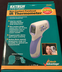Extech Ir200 Non contact Forehead Infrared Thermometer
