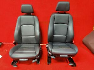 Bmw E88 128 135 Convertible Front Right Left Heated Sport Seat Set Oem