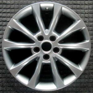 Ford Fusion Hyper Silver 17 Inch Oem Wheel 2017 To 2018