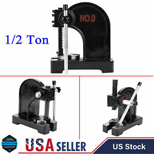 1 2 Ton Arbor Press Tool Install Removing Bearings U Joints Pins Assembly New
