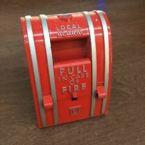 Vintage Edwards 270 spo Fire Alarm Pull Station old Style Collectible
