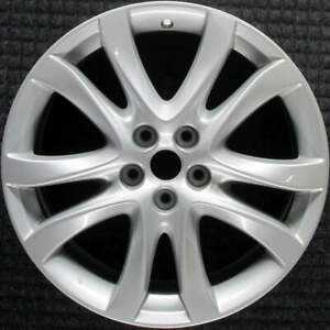 Mazda 6 All Silver 19 Inch Oem Wheel 2014 To 2017