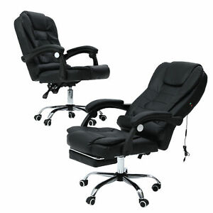 Executive Gaming Chair Massage Reclining Swivel Office Chair Desk Computer