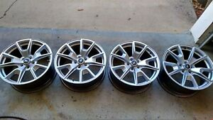 Used 2015 Ford Mustang Gt Factory 19 19x8 5 Silver Wheels Rims Oem Free Shippin