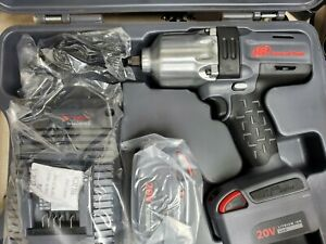 1 2 Cordless Impact Wrench Standard Anvil 2 battery Kit With Universal Charger