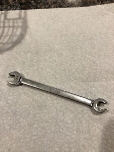 Snap On Tools 3 8 Flare Nut Open End Wrench 6 Point Usa Line Rxs12