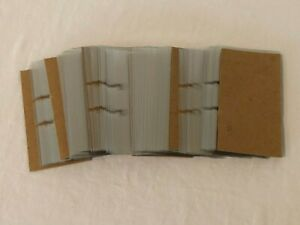 Rolodex Business Card Sleeves 125 Transparent Clear Refill Lot New Open